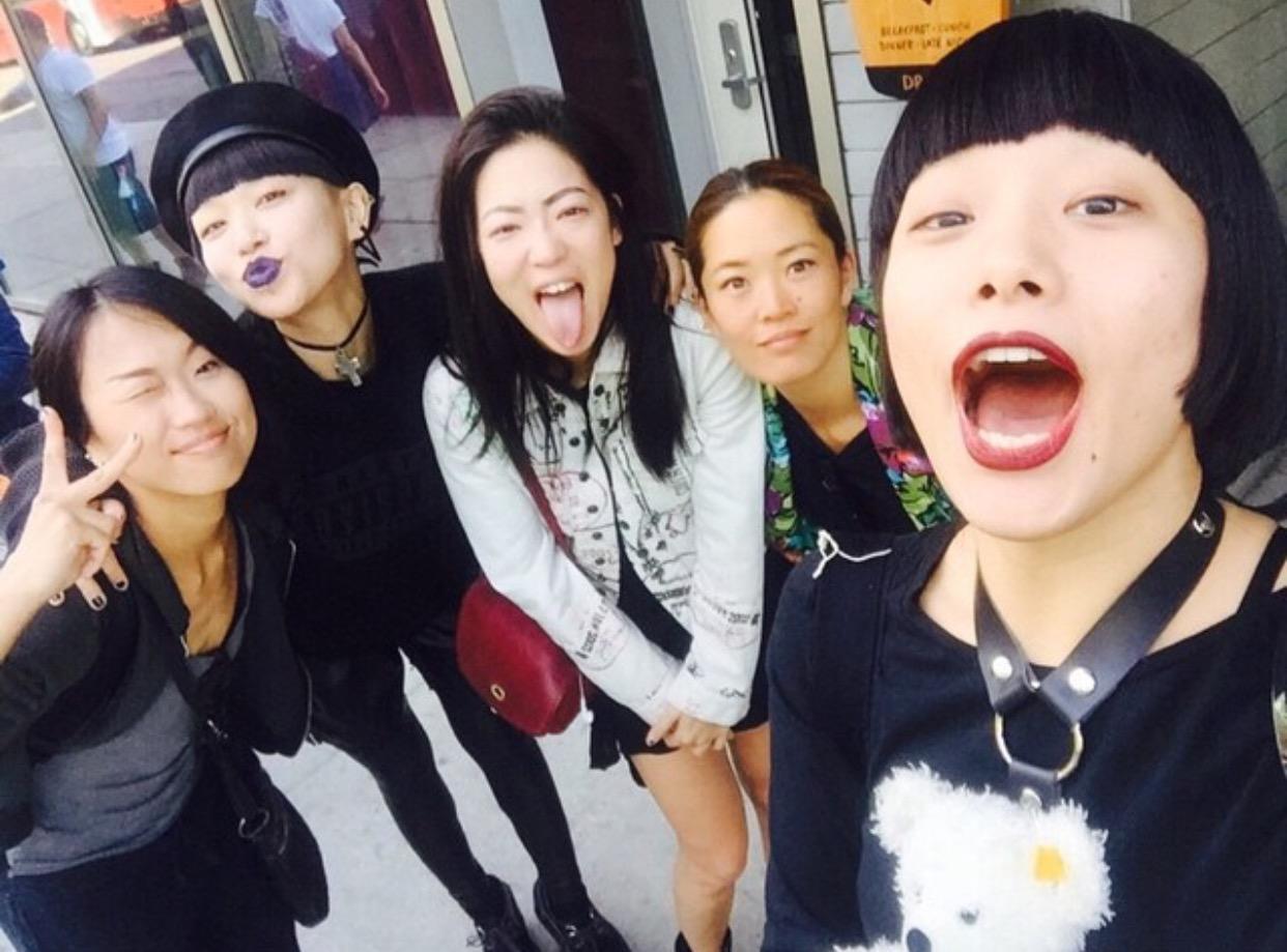 Les danseurs et Chorégraphes du Rebel Heart Tour