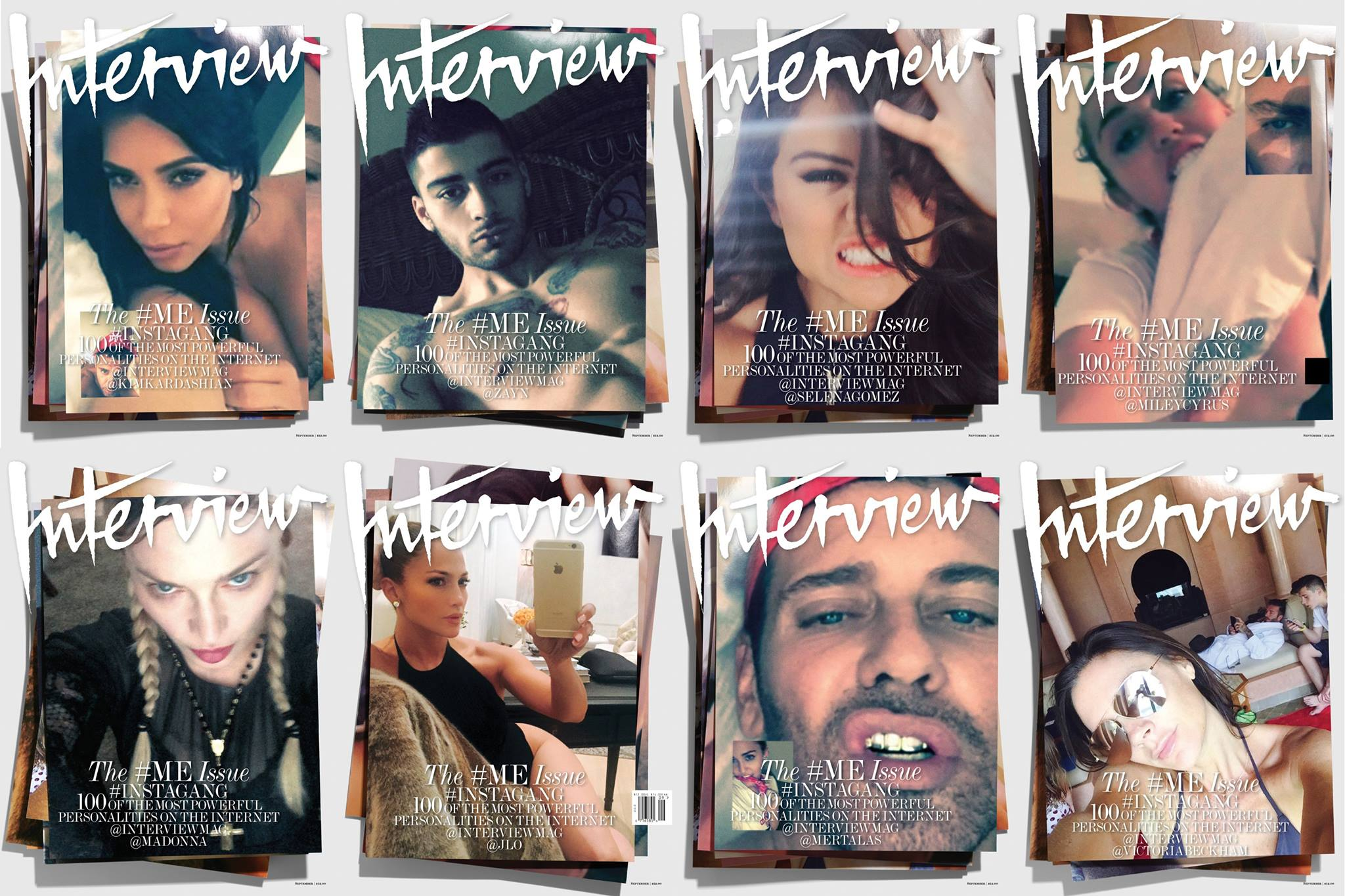 Madonna : Interview Magazine - September Issue 2015