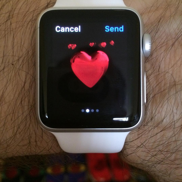 "The last days of Madonna ""Rebel ❤️ Heart"" tour rehearsals. Things are ""moving"" so fast now I don't have time to update. Tomorrow the latest and some personal feelings about the rehearsal period coming to an end 😪. (New Apple Watch courtesy of my friend Arianne Phillips❗️) complete with a pulsing REBEL Heart feature as a ""tap"". Less than a week now. What would YOU like to know?"