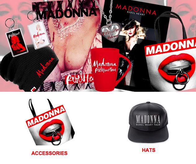 Rebel Heart Tour : Official Merchandising