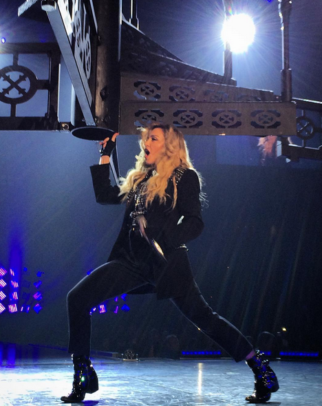 Rebel Heart Tour : Boston 26th September