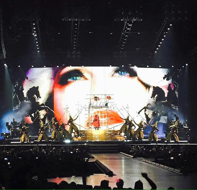 Rebel Heart Tour : Edmonton October 11th et 12th