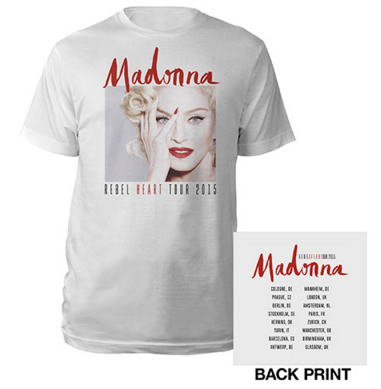 Rebel Heart Tour : Merchandising Europe