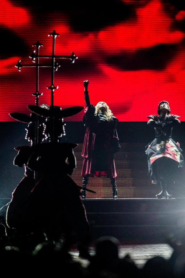 Rebel Heart Tour : Anvers 28 Novembre