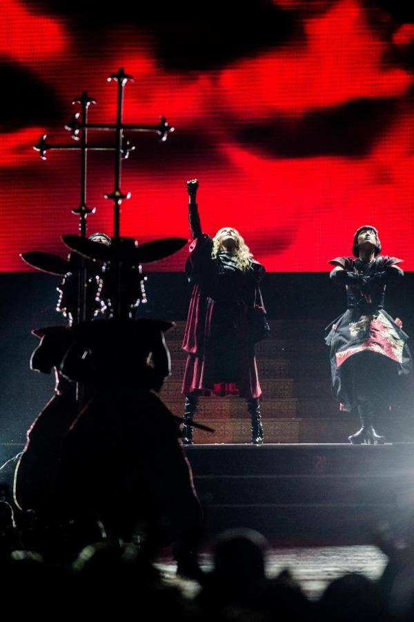 Rebel Heart Tour : Anvers 28 Novembre