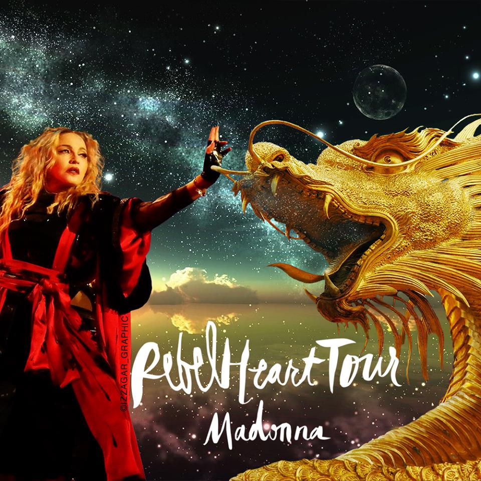 Rebel Heart tour : Puerto Rico 27 & 28 Janvier