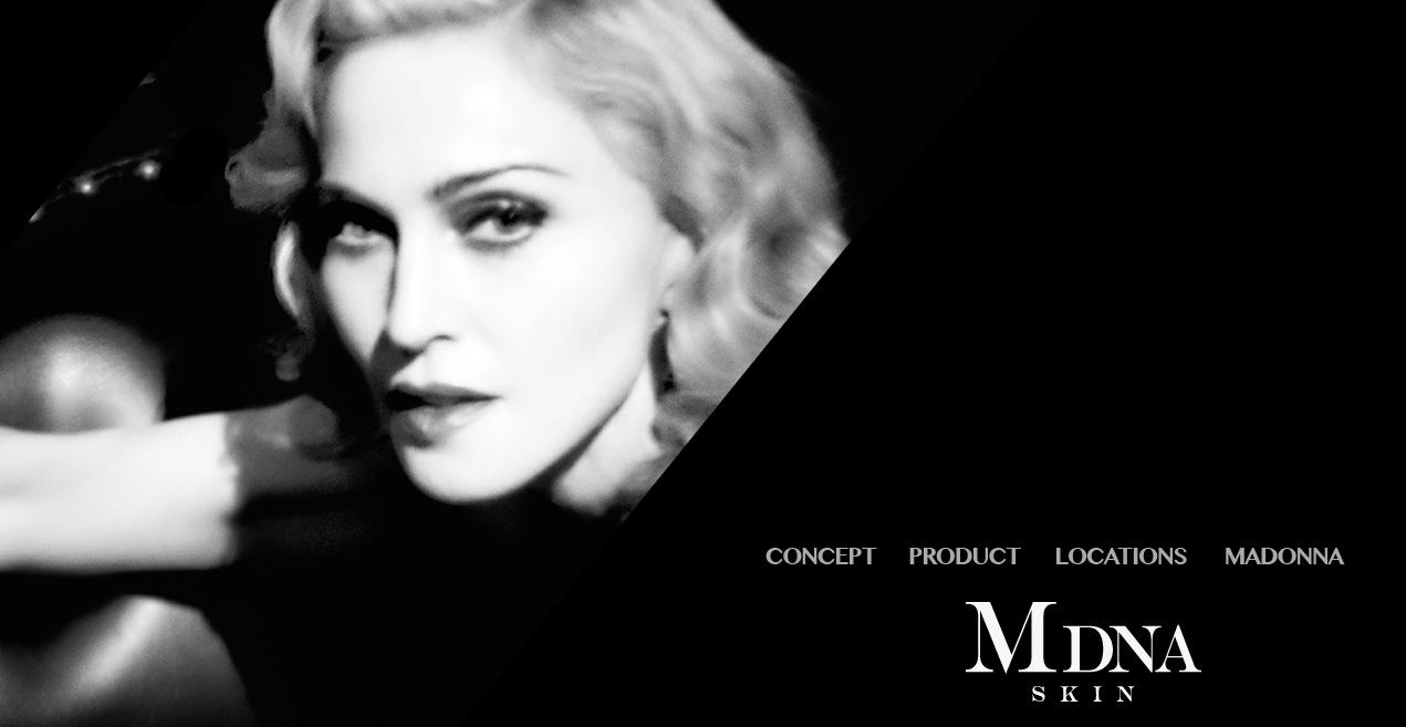 MDNA skin : le livret de présentation