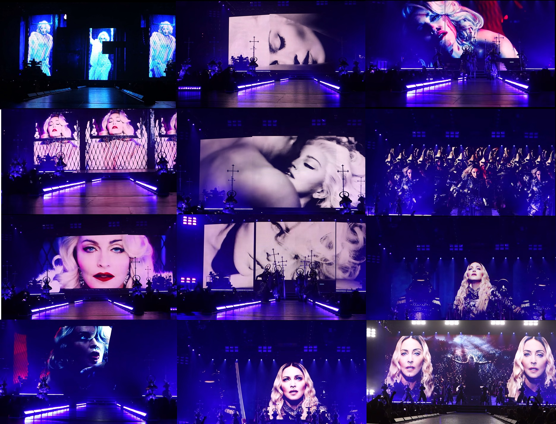 FULL ICONIC OFFICIAL VIDEO BACKDROP