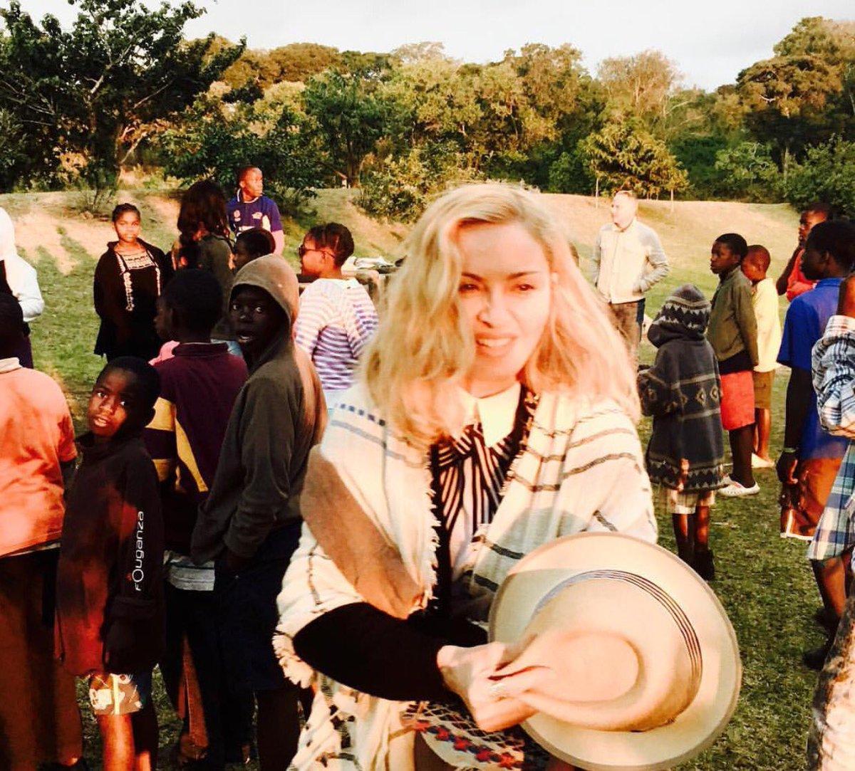 Les visites de Madonna au Malawi