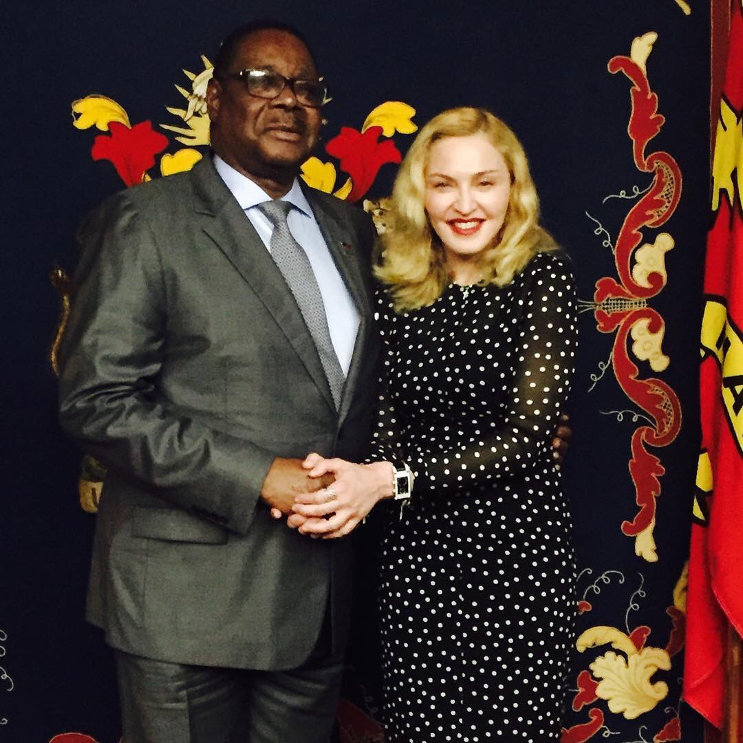 Met with His Excellency President Peter Mutharika! We discussed food security, education for girls and staffing for our new Pediatric hospital in Blantyre with Nurses And Clinical Officers. 🙏🏻🌍🇲🇼🇲🇼🇲🇼