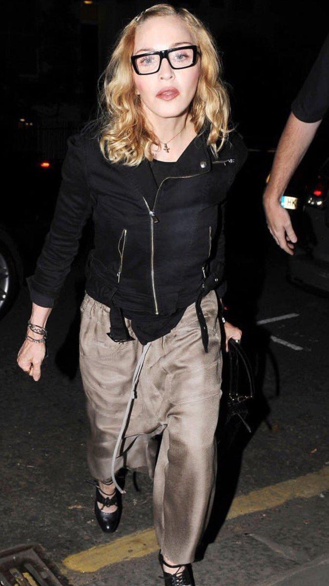 Madonna de retour à Londres