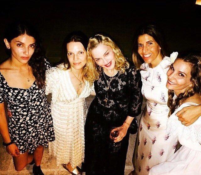 Madonna est en Italie !