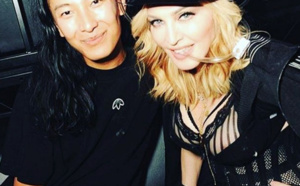 Madonna à l'after Party d'Alexander Wang