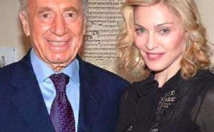 Madonna réagit à la mort de Shimon Peres