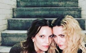 Madonna de sortie à Londres