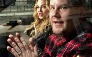 Madonna  participe au Karaoke CarPool de James Corden