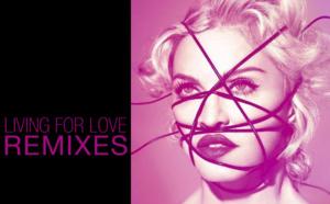 La liste des remix de Living For Love