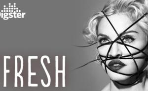 Living For Love de Madonna dans la playlist Digster Fresh !