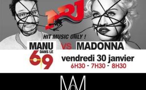 Madonna sur NRJ dans le 6/9 vendredi 30 janvier