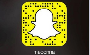 Madonna sur SNAPCHAT