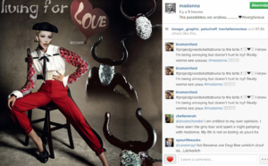 Madonna publie News Of Madonna sur Instagram