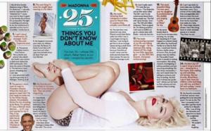 25 choses que vous ne saviez pas sur Madonna