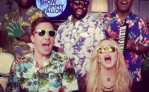 Madonna au Tonight Show