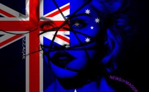 MADONNA EST EN AUSTRALIE