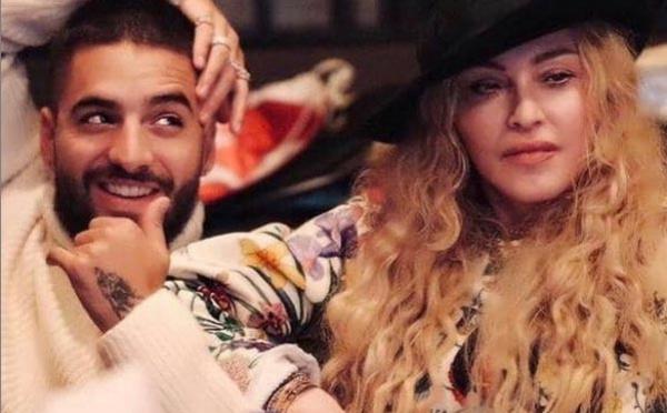 Madonna et Maluma en studio